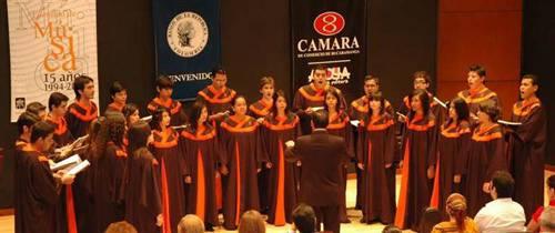 Coros bumangueses se lucieron en España