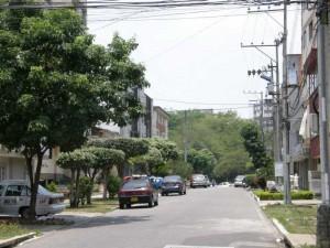 Vecindario de la Clínica Chicamocha