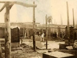 Los inicios de la construcción del Colegio de la Presentación en Bucaramanga