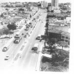 Panoramica de la carrera 27 en Bucaramanga, hace varios años.