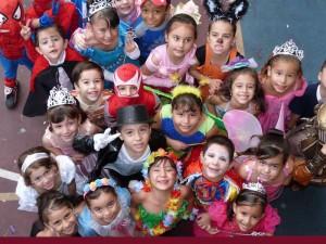 Disfraces en la Fiesta de los Niños