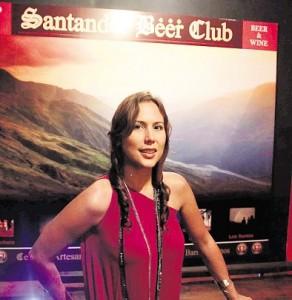 Titi Juliana Bernal, propietaria de una cadena de restaurantes.