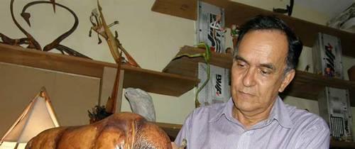 Jorge Alberto, el artista del cuero