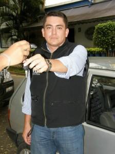 Mauricio Espinoza le presta el servicio de 'Conductor elegido'