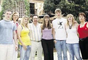 Estudiantes alemanes de intercambio en Bucaramanga