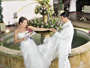 María Juliana Gamboa Estévez y Néstor Eduardo León Barbosa unieron sus vidas