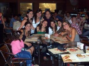 Silvia Mahecha, Silvia Jaimes, Martha Fernández, Sara Sus, Luz Ángela Quiroz, Silvia Calderón, Yelin Vélez y María Fernanda Reyes.