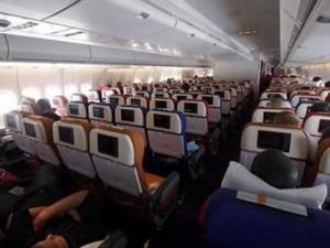 Ojo con los viajes largos en avión