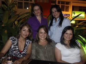 María Eugenia Alzate, Elizabeth Franco, Rosmery Franco, Blanca Gómez y Leonor González.
