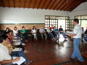 Profesores del San Pedro prepararon su espíritu.