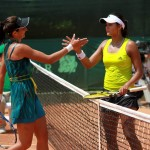 Alexandrina Naydenova derrotó 6-1 y 6-2 a la colombiana Yuliana Lizarazo y se coronó campeona del primer certamen femenino en la Copa Seguros Bolívar Open de tenis de Bucaramanga.