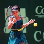 Alexandrina Naydenova, en acción en la final femenina.