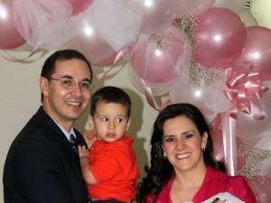 Sergio Mantilla, Sergio Andrés Mantilla Monsalve, Claudia Monsalve y María Gabriela Mantilla Monsalve.