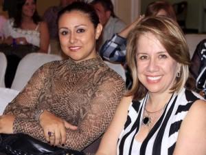 Ludy Elena Alemán y Luz Amparo Barrera.