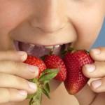 Juegue con las texturas y colores de los alimentos
