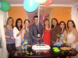 Eliana Acevedo, Elenita Laguado, Nadine Pinilla, Roddy Mendoza, Melisa Madrigal, Alice González, Carolina Henao y Ruth Nieves.