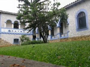 Así lucía la Casa de La Vega hasta el sábado 5 de febrero en la noche.