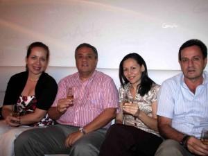 Luz Estella Cruz, Jorge Enri-que Delgado, Adriana Bacca y Jesús Cruz.
