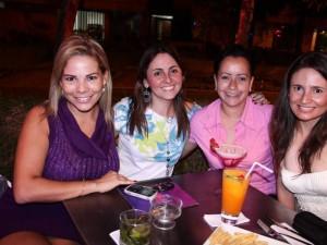 Janeth Reidhead, María Fernanda Sánchez, María Fernanda Mantilla y Maiya Lizeth Mantilla.
