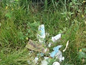 Esta es la zona plagada de basuras, ratas e indigentes.