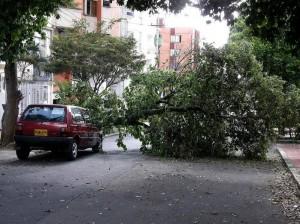 El vehículo es de la empresa contratista, que tendrá que responder por el daño del carro.