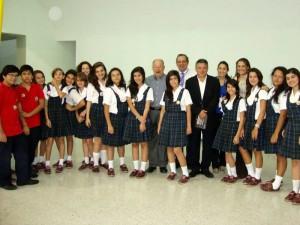 Al evento asistió también el alcalde de Bucaramanga, Fernando Vargas.