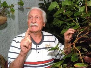 Raul Roque Di Marco Rodriguez en su casa en Bucaramanga a la edad de 85 años.