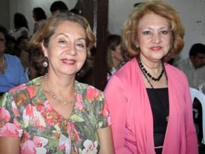 Magda Helena Rojas y Luz Clemencia Arenas.