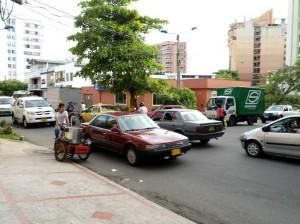 En el trayecto de la carrera 31 entre calles 49 a 52 los accidentes ocurren a diario.