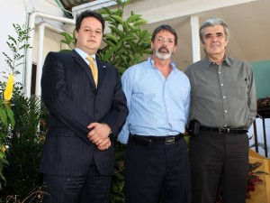 Erwing Rodríguez Salah, Alfonzo Gómez Gómez y Orlando Beltrán.