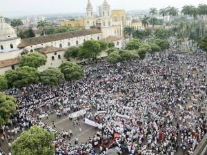 Lo que nunca se previó fue que tanta gente diera el sí a la denominada Gran Marcha del Agua.