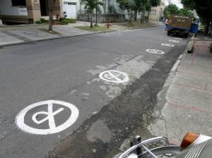 Carrera 34 entre calles 34 y 35.