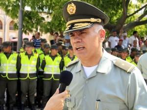 Comandante de la Policía Metropolitana de Bucaramanga.