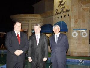 Óscar Rivera, Sandor Tupi y Héctor Cristancho