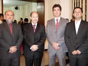 Florentino Rodríguez, Rodrigo Fernández, Juan Beltrán y Enrique Gómez.