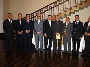 Gustavo Pedraza, Jorge Rueda, Rafael Mora, Florentino Rodriguez, Luis Arevalo, Juan Zamora, Héctor Díaz, Carlos Yeps y Henry Avellaneda.