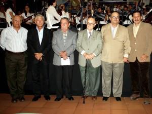 Luis Camacho Márquez, César De Hard, Roberto Orduz, Alfonso Gómez Gómez, Luis Ernesto Ruiz y Juan Pablo Carvajal.