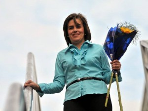 En ceremonia cumplida en la Cámara de Comercio Women's Club Bucaramanga distinguió Consuelo Ordoñez de Rincón como la Mujer del Año 2010.