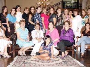 Johana Savedra, María Rivero, Silvia Sanz, Mabel de Suárez, Sandra García, Martha Mora, Margarita Bonilla, Martha de Sarmiento, Pilar Cadena, Martha de Prieto