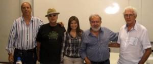 Fernando Rodríguez, Ricardo Silva,Laura Marina Valencia, Francisco Antonio de Accioli, Carlos Cosenza.