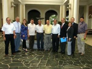 Juan Pablo Rueda, Gonzalo Ríos, Marcela Ogliastri, Wilson Díaz, Alberto Forero, José Ramón García.