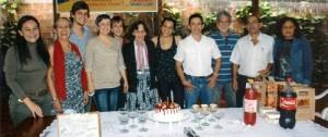 Mireya Brijaldo, Edilma Martínez, Guillermo Elizalde, Rosabel Martínez, Helena Arenas.