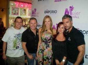 Alfonso Villamizar, Leonardo Maldonado, Laura Acuña, Diana Olaya y Giorgio Difeo.