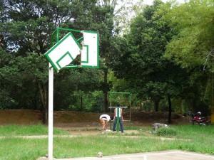 El parque Leones se ve como uno de los mas abandonados en el sector de cabecera.