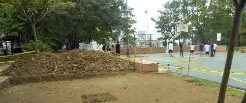 Los baños en San Pío se construirán en el parqueadero