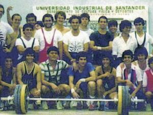 Entrenador de la Selección de Pesas de la UIS durante 8 años y llevé durante 8 años como campeón a este equipo.