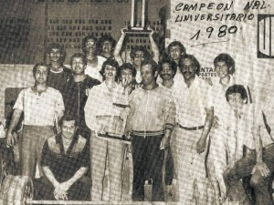 Equipo de la UIS, Campeón Nacional Universitario en 1980