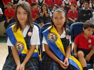 María Gabriela Mojica Suaza, Personera, y Mariana Pinzón Arias, Gobernadora.