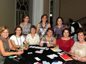 Amparo de Ruiz, Nora de Ortiz, Gladis de Lozano, Gilma de Díaz, Martha de Olaya, Esperanza de Aparicio, Beatriz de Ortiz, Martha de Cavanzo y Martha de Jiménez.
