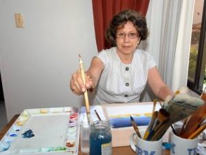 Soledad Silva Ardila inició su carrera de artista profesional en la UIS.